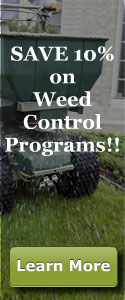 Save 10% on Weed Control Programs!!